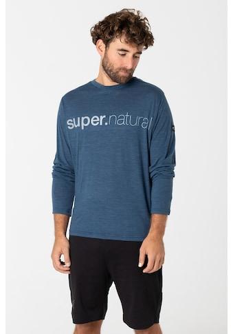 SUPER.NATURAL T-Shirt »M ACTIVE 3/4«, atmungsaktiver Merino-Materialmix kaufen
