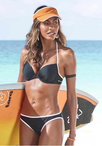 Venice Beach Push-Up-Bikini-Top »L.A.«, mit Kontrastpiping kaufen