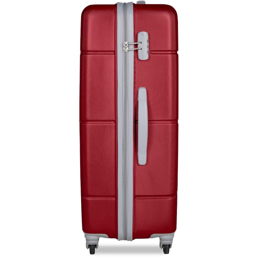 suitsuit Hartschalen-Trolley »Caretta, 75 cm«, 4 Rollen