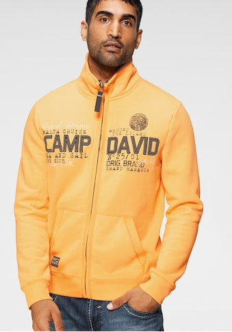 CAMP DAVID Sweatjacke, mit markanter Logo-Applikation kaufen