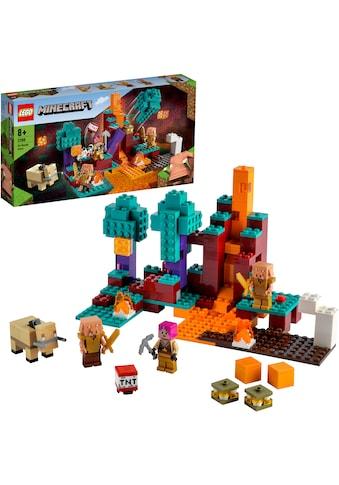 LEGO® Konstruktionsspielsteine »Der Wirrwald (21168), LEGO® Minecraft™«, (287 St.),... kaufen