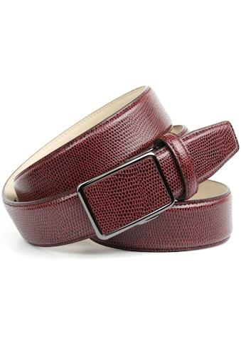 Anthoni Crown Ledergürtel, in Warandesign, Ton in Ton Steppung kaufen