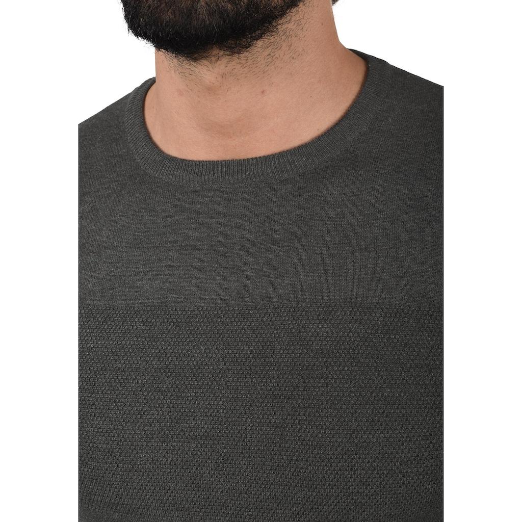 Indicode Strickpullover »Ernesto«, Strickpulli aus Feinstrick