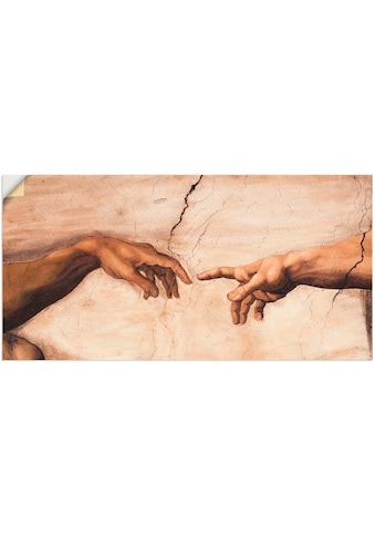 Artland Wandbild »Hände«, Religion, (1 St.), in vielen Grössen & Produktarten -... kaufen