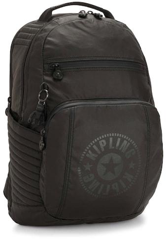 KIPLING Laptoprucksack »Troy Extra, Raw Black«, mit abnehmbarer Brusttasche kaufen