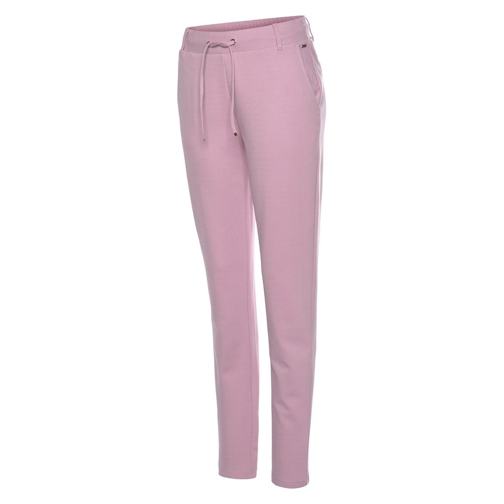 LASCANA Jogger Pants, (1 tlg.), mit elastischem Bund und Gürtelschlaufen