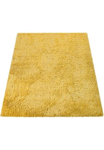 Paco Home Hochflor-Teppich »Bamba 410«, rechteckig, 45 mm Höhe, waschbar, Wohnzimmer kaufen
