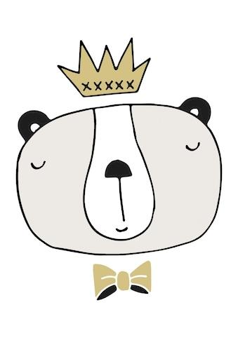 Lüttenhütt Leinwandbild »King« kaufen