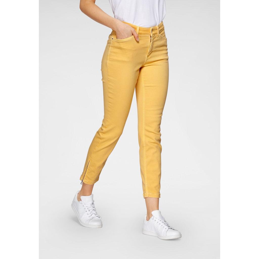 MAC 7/8-Jeans »Dream Chic«, Verkürzte Form mit Reissverschluss