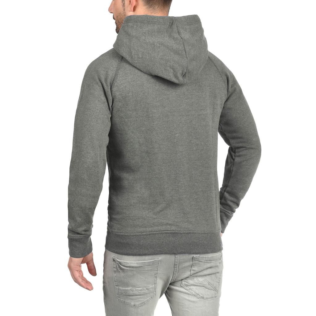 Blend Kapuzensweatjacke »Speedy«, Sweatshirtjacke mit hochabschliessendem Kragen