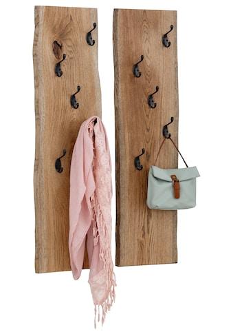 Premium collection by Home affaire Wandpaneel »Brodi«, aus massiver Eiche in Wellenform. kaufen