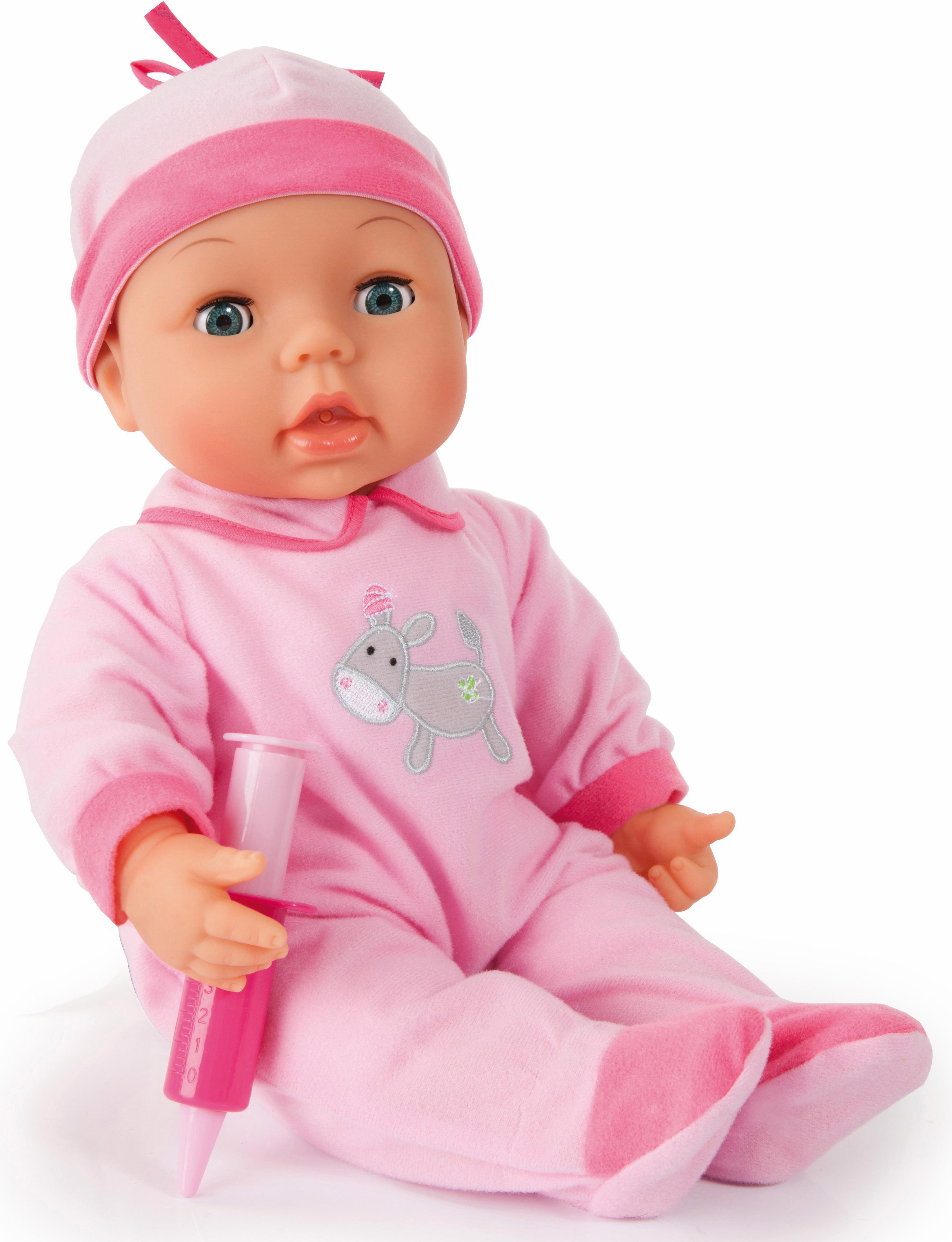 Image of Bayer Design Babypuppe mit Funktion und Zubehör, »Doktor Set, 38 cm«