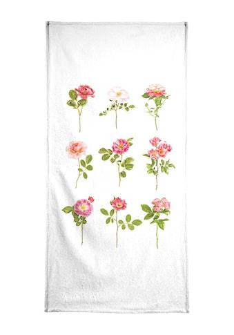 "Handtuch ""Roses 2"", Juniqe kaufen"