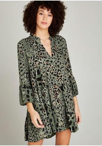 Apricot Druckkleid »Leopard Print Tiered Dress«, mit Leo-Druck kaufen