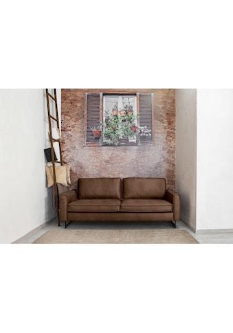 Places of Style 3-Sitzer »Pinto«, mit Keder und Metallfüssen kaufen