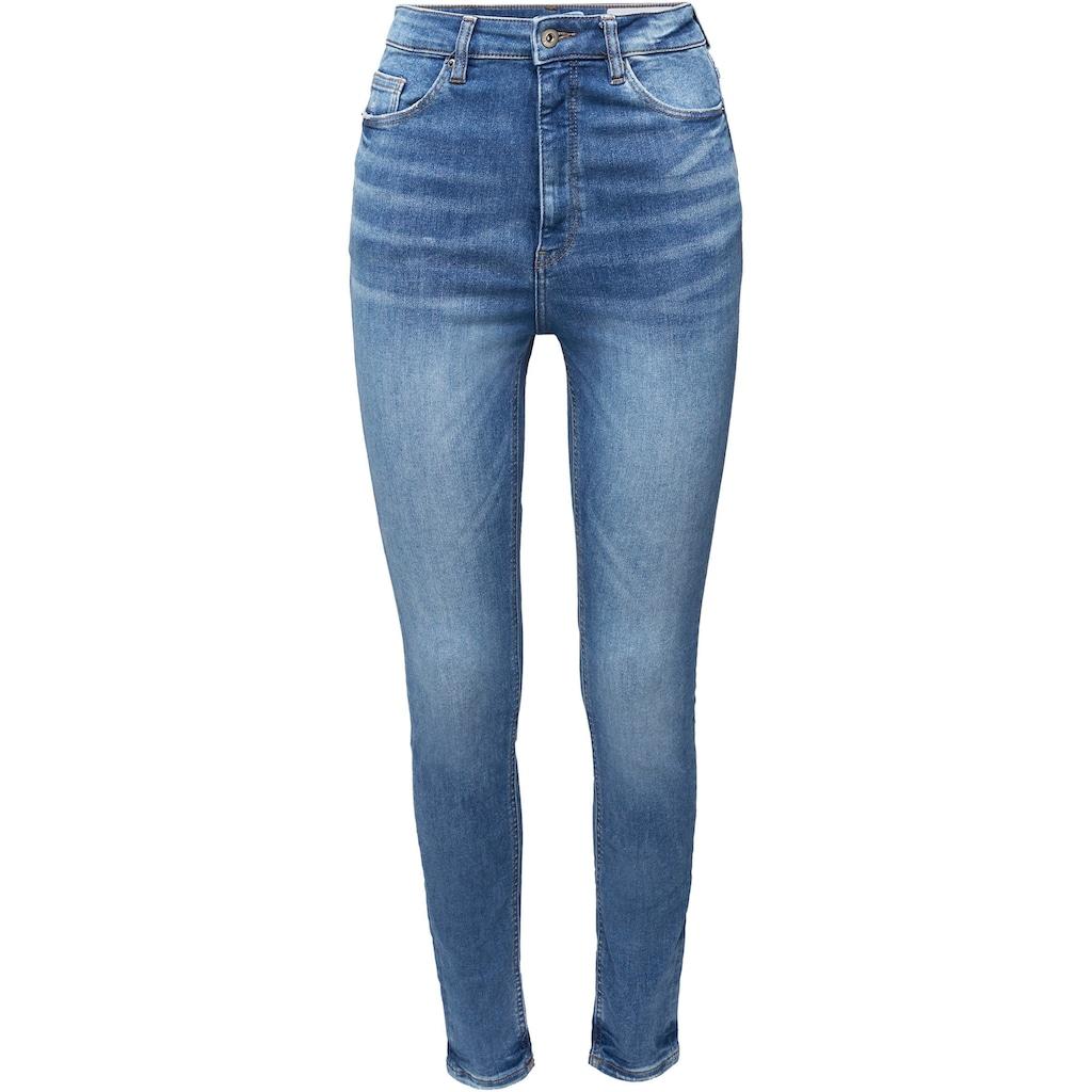 edc by Esprit Skinny-fit-Jeans, aus weichem Super-Stretch Denim