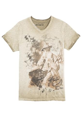 Hangowear Trachtenshirt, mit ausdrucksvollem Print kaufen