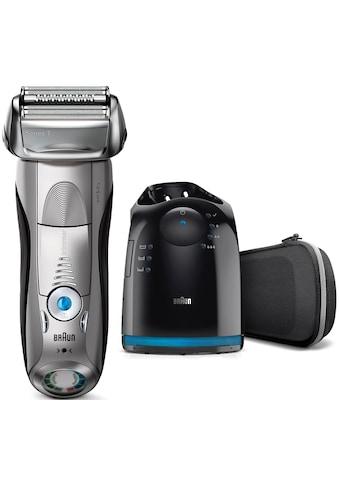 Braun, Elektrorasierer Series 7 7898cc, 4 - Stufen - Reinigungs -  und Ladestation, SmartClick - Präzisionstrimmer kaufen
