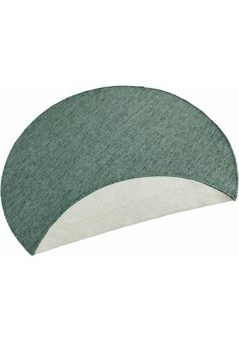 bougari Teppich »Miami«, rund, 5 mm Höhe, In- und Outdoor geeignet, Wendeteppich,... kaufen