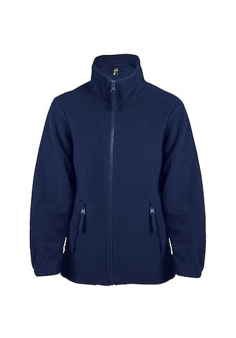 SOLS Fleecejacke »Kinder Fleece Jacke North« kaufen