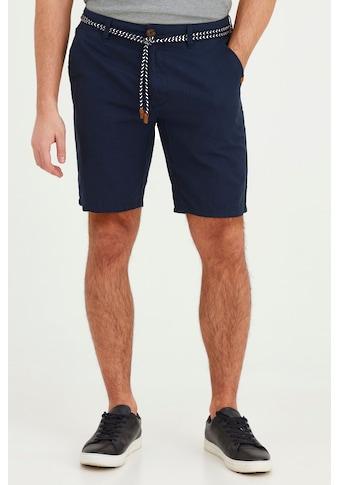 Blend Stoffhose »Mennok«, Leinen Shorts mit Stoff Gürtel kaufen