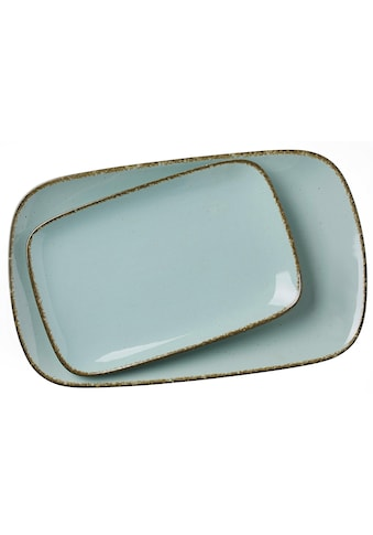 Ritzenhoff & Breker Servierplatte »Casa«, (Set, 2 tlg., 1 Platte gross, 1 Platte klein) kaufen