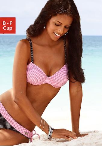 Buffalo Bügel-Bikini-Top »Florida«, im tollen Mustermix kaufen