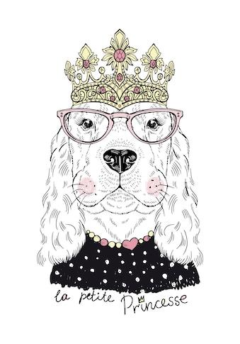 Lüttenhütt Leinwandbild »Hund« kaufen