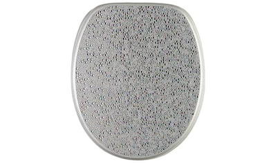 Sanilo WC-Sitz »Crystal Silver«, mit Absenkautomatik kaufen