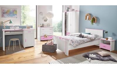 Parisot Jugendzimmer-Set »Biotiful«, (Set, 4 St.), mit 3-trg. Kleiderschrank kaufen