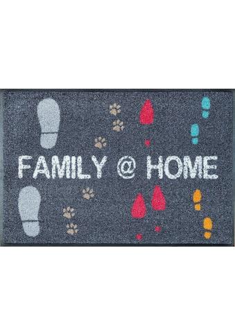 wash+dry by Kleen-Tex Fussmatte »Family @ Home«, rechteckig, 9 mm Höhe,... kaufen