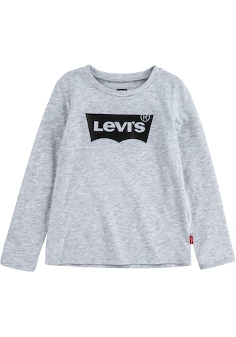 Levi's Kidswear Langarmshirt »Batwing Tee«, meliert mit Logodruck kaufen