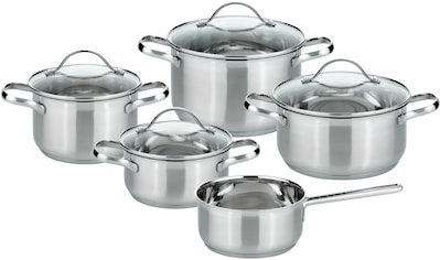 Elo - Meine Küche Topf-Set, Edelstahl 18/10, (Set, 9 tlg.), Induktion kaufen