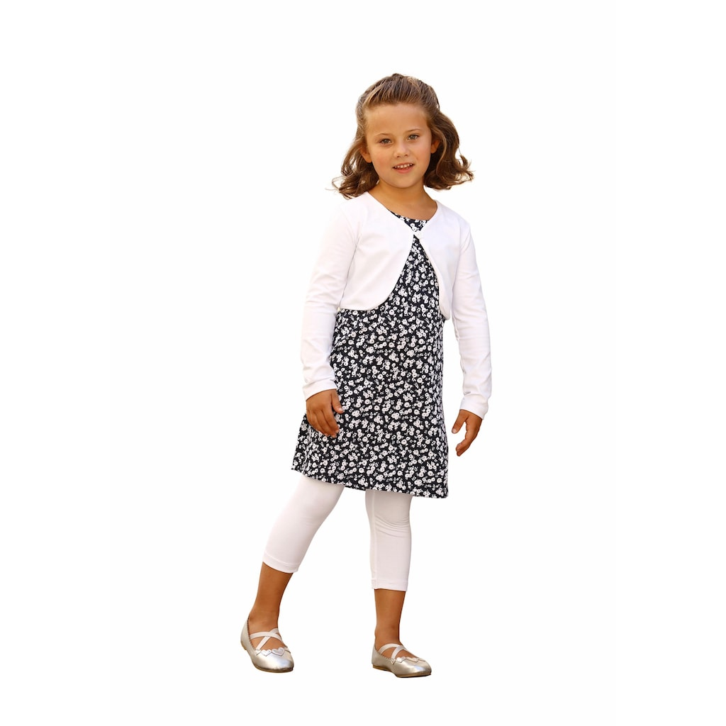 Arizona Bolero, Kleid & Leggings (Set, 3 tlg.)