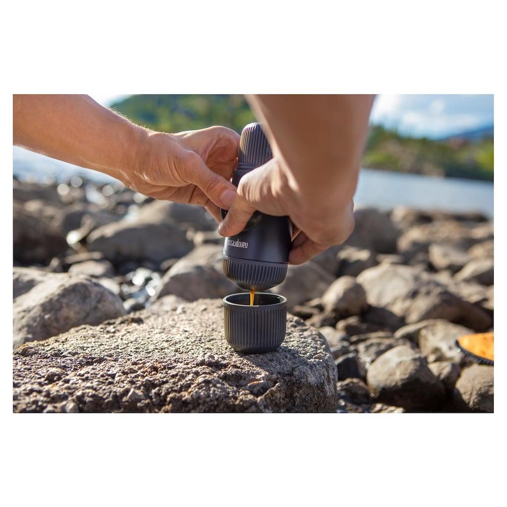 Wacaco Reisekaffeemaschine »Nanopresso«, Bundle mit Nespresso Adapter