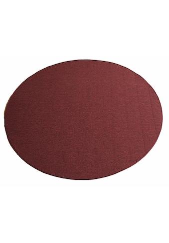 Living Line Teppich »Torronto«, rund, 5 mm Höhe, Kurzflor, Wohnzimmer kaufen