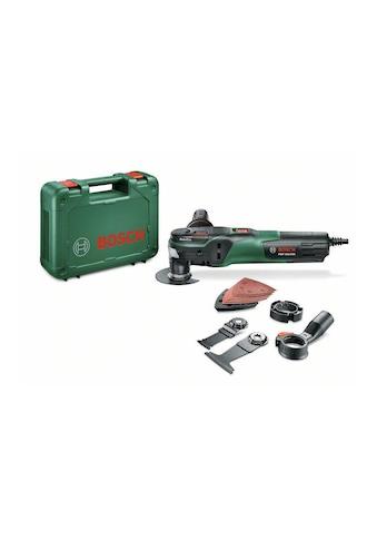 BOSCH Multifunktionswerkzeug »PMF 350 CES«, Funktionen: Sägen; Fräsen; Schleifen; Schaben kaufen