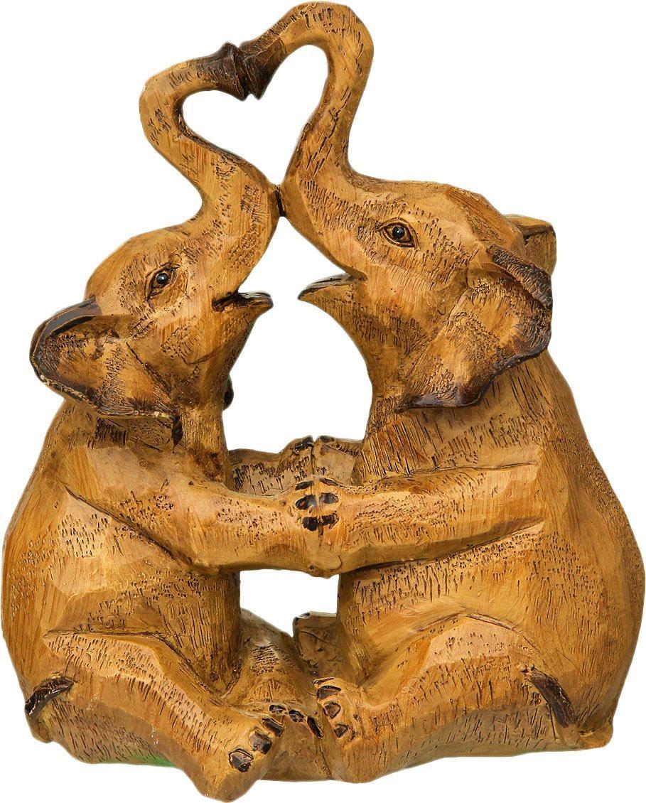 Image of Ambiente Haus Dekofigur »Elefanten-Paar«