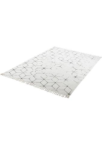 Obsession Teppich »My Stockholm 342«, rechteckig, 10 mm Höhe, Flachgewebe, handgewebt,... kaufen