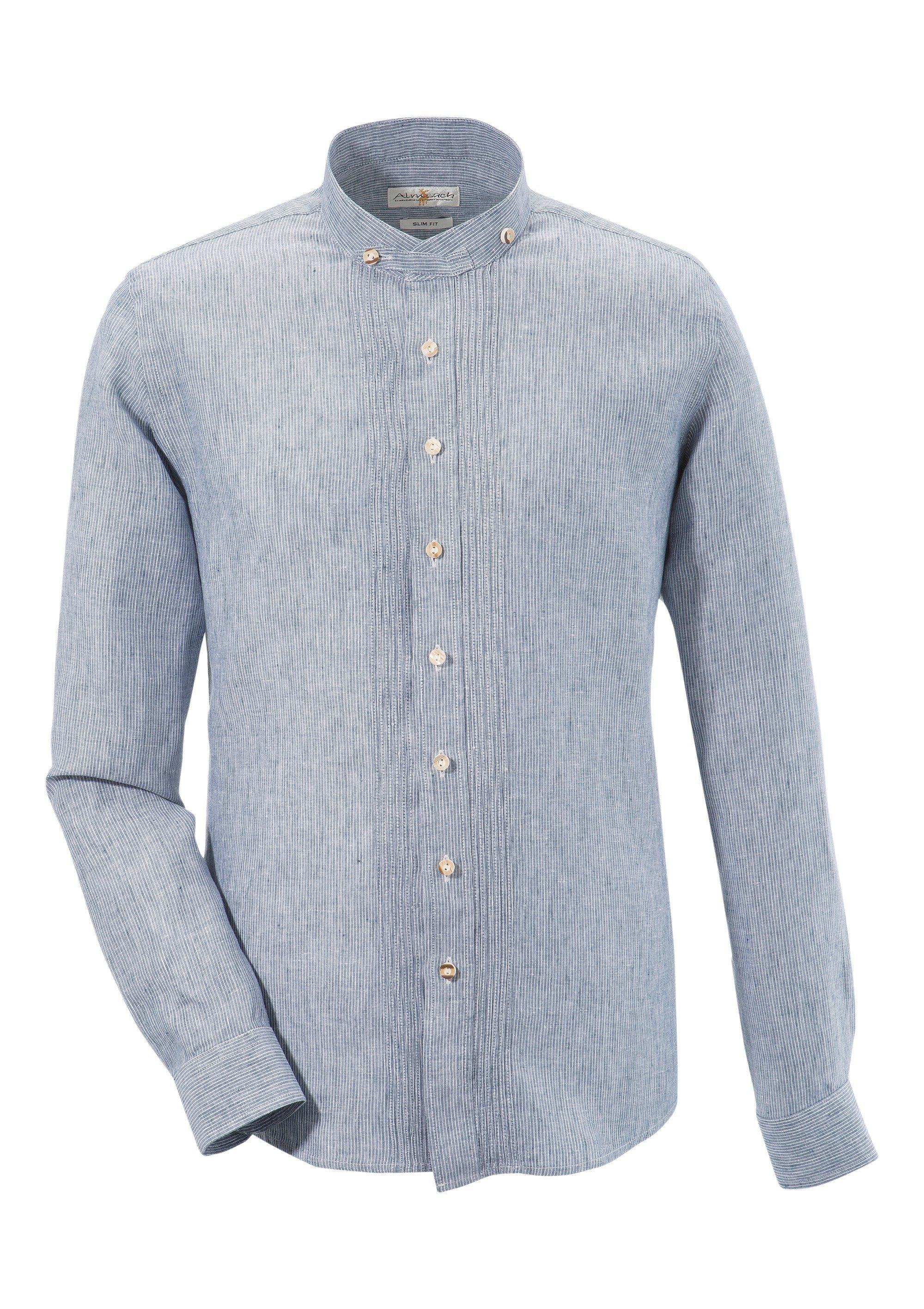 Image of Almsach Trachtenhemd, aus reiner Baumwolle