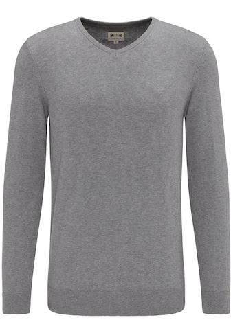 MUSTANG Sweatshirt »Basic V - Neck Jumper« kaufen