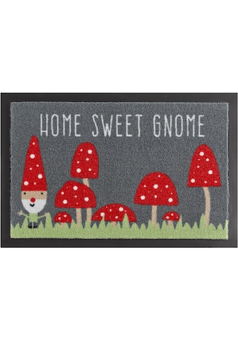 HANSE Home Fussmatte »Home Sweet Gnome«, rechteckig, 7 mm Höhe, Schmutzfangmatte, mit... kaufen