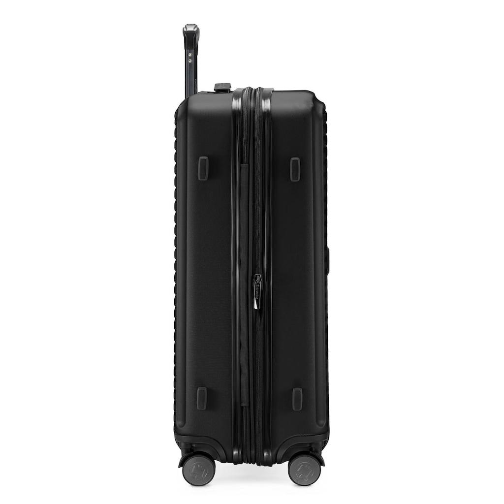 Hauptstadtkoffer Hartschalen-Trolley »Mitte, schwarz, 68 cm«, 4 Rollen