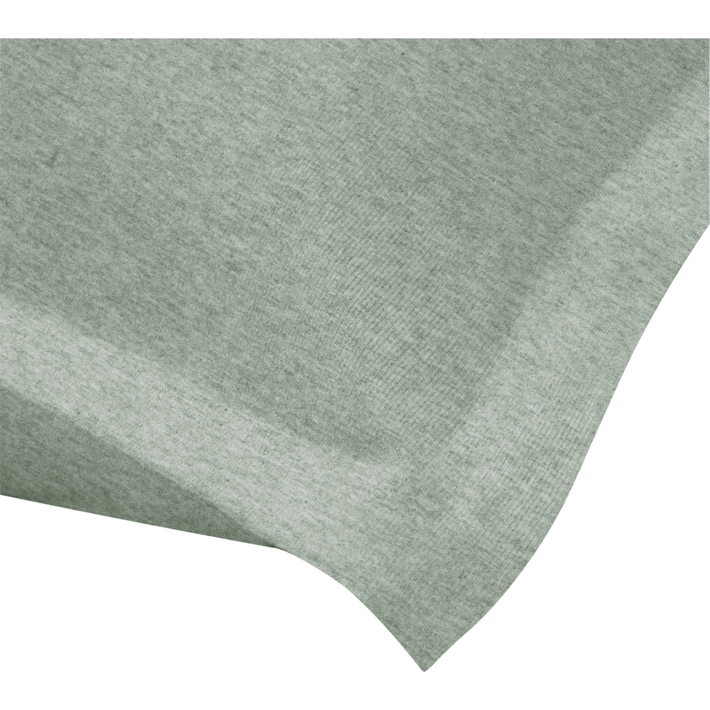 Schlafgut Kissenbezug »Melange Uni«, passend zu Spannbettlaken und Bettwäsche
