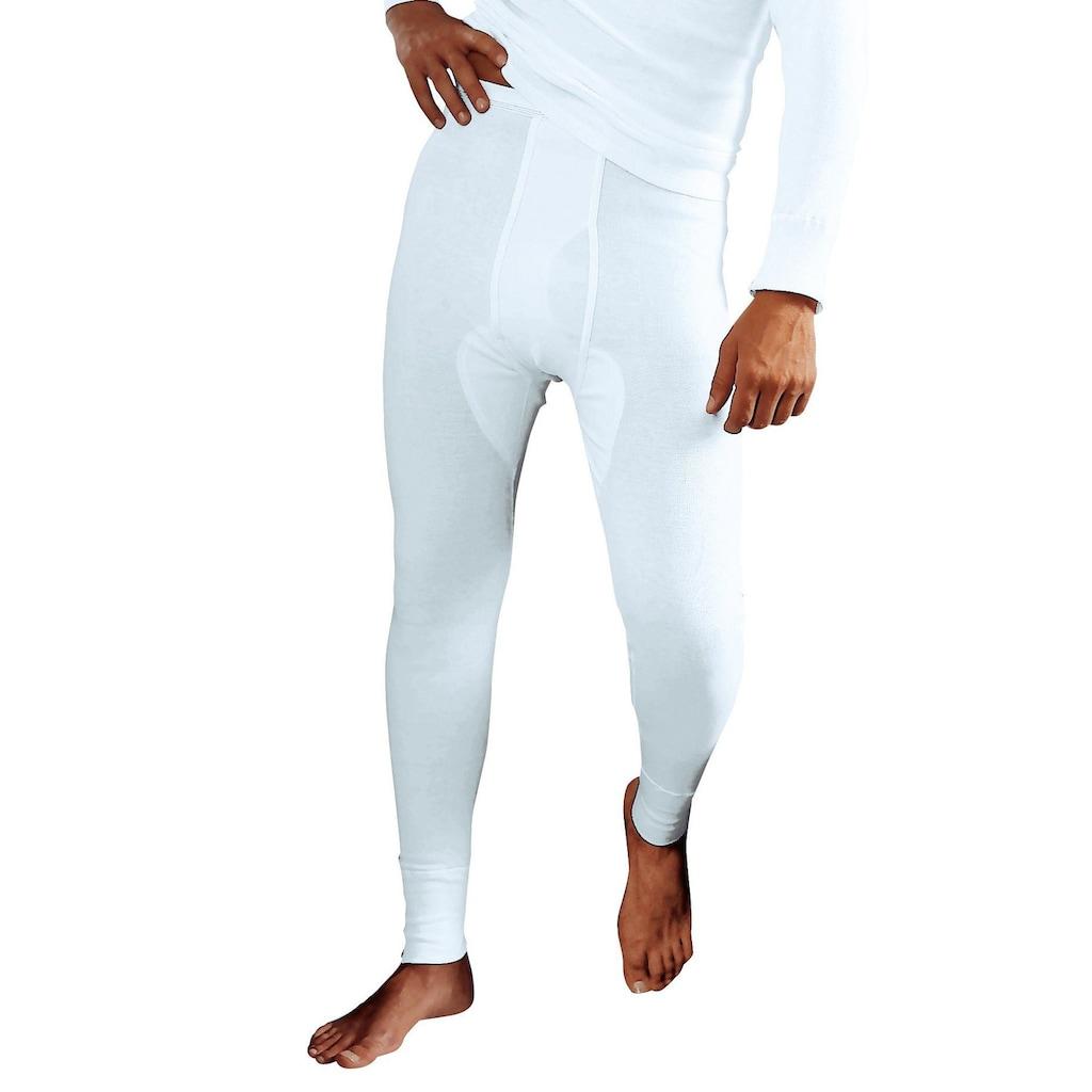 Clipper Lange Unterhose, Doppelripp