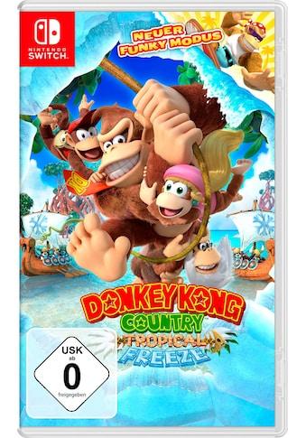 Nintendo Switch Spiel »Donkey Kong Country: Tropical Freeze«, Nintendo Switch kaufen