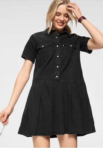 Levi's® Jeanskleid »Mirai Western Dress«, Mit angestzten Falten kaufen