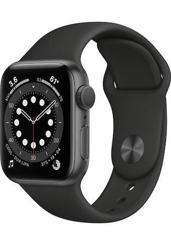Apple Smartwatch »Apple Watch Series 6 GPS, Aluminium Gehäuse, 44 mm mit Sportarmband«,  kaufen