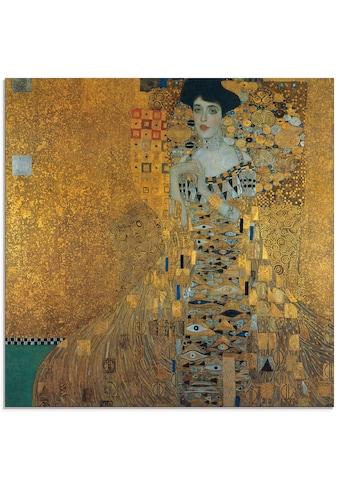 Artland Glasbild »Portrait von Adele Bloch-Bauer«, Frau, (1 St.) kaufen
