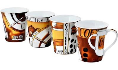 Retsch Arzberg Becher »Kaffee«, (Set, 4 tlg.) kaufen
